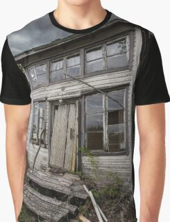 Abandoned Village Chief´s House Graphic T-Shirt