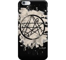 Necronomicon bleached iPhone Case/Skin
