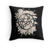 Necronomicon bleached Throw Pillow