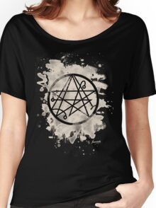 Necronomicon bleached Women's Relaxed Fit T-Shirt
