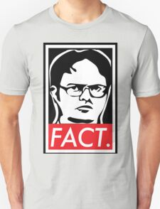 """The Office: Dwight """"FACT' Obey T-Shirt"""