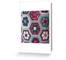 Crochet Kaleidoscope ... Greeting Card
