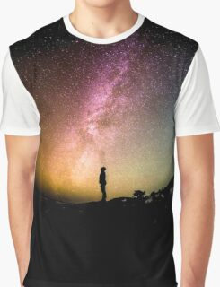 Looking to the Stars Graphic T-Shirt