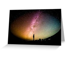 Looking to the Stars Greeting Card