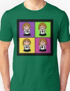 Tie Girl Liz Squared Unisex T-Shirt