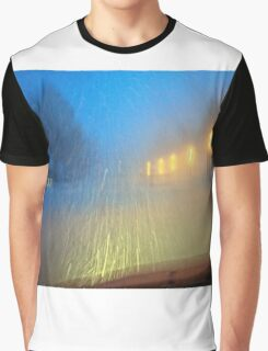 Blinding Snowstorm Graphic T-Shirt