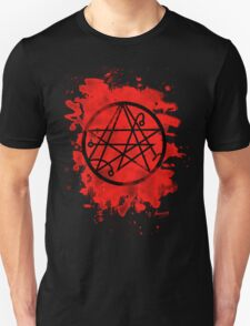 Necronomicon - bleached red T-Shirt