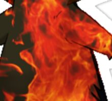Typhlosion flames Sticker