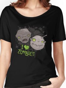 Zombie Heads Women's Relaxed Fit T-Shirt