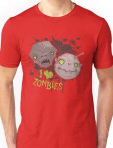 Zombie Heads Unisex T-Shirt