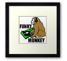Funky Munkey Framed Print