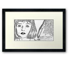KARMACOMA SCENE Framed Print