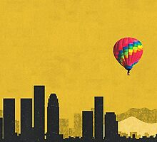 Coldplay Los Angeles Duvet by Marcuccio
