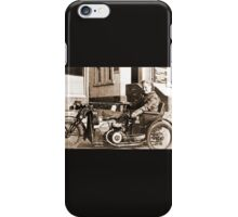 Bad Ass Modified Motorcycle used during WW2 iPhone Case/Skin