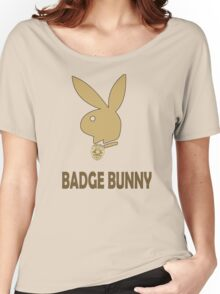 Badge Bunny Women's Relaxed Fit T-Shirt