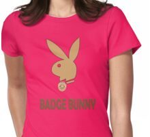 Badge Bunny Womens Fitted T-Shirt