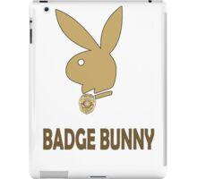 Badge Bunny iPad Case/Skin