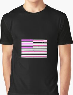 Breast Cancer America Graphic T-Shirt