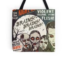 The Zombies Night Out! Tote Bag