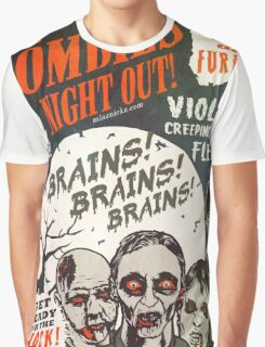 The Zombies Night Out! Graphic T-Shirt