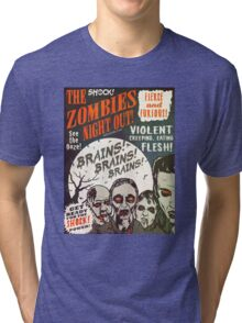 The Zombies Night Out! Tri-blend T-Shirt