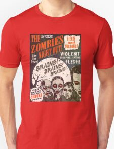 The Zombies Night Out! Unisex T-Shirt