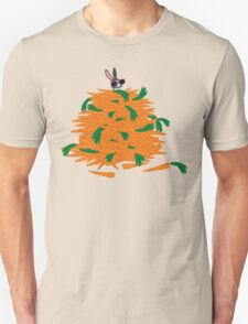 Cool bunny and carrots T-Shirt