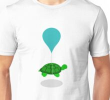Floating Turtle Unisex T-Shirt