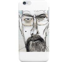 Walter White by Ralph Steadman iPhone Case/Skin