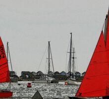 Red Sails Sticker