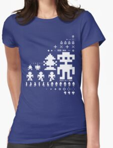 Robotron Womens Fitted T-Shirt