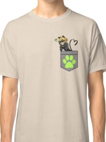 Chat Noir in a Pocket Classic T-Shirt