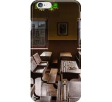 An old classroom iPhone Case/Skin