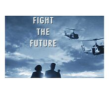 X Files - Fight The Future Photographic Print