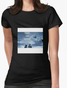 X Files - Fight The Future Womens Fitted T-Shirt