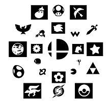 Smash Bros Photographic Print