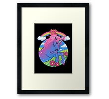 Sparkle Cake Framed Print