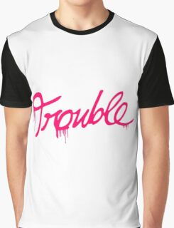 Natalia Kills - Trouble Graphic T-Shirt