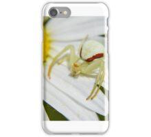 Goldenrod Crab Spider iPhone Case/Skin