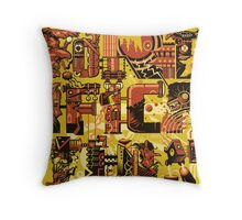 Frankenstein Monster is Dead Throw Pillow