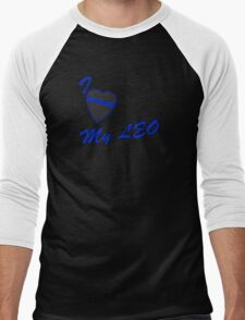 I love my LEO Men's Baseball ¾ T-Shirt