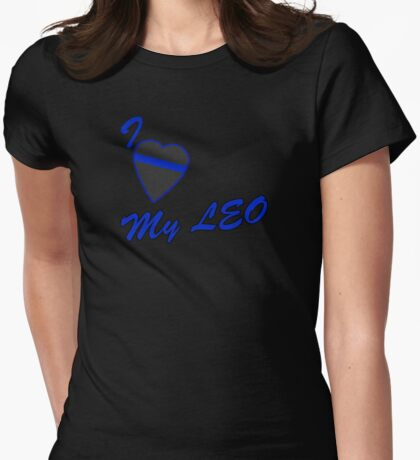 I love my LEO Womens Fitted T-Shirt
