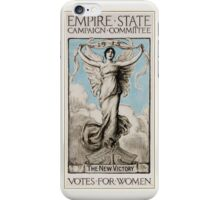 History US feminism 1915 Votes for women iPhone Case/Skin