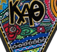 KAO Kite for signed_Dallas Alumnae Chapter Sticker