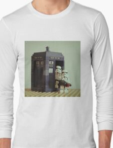 Lego TARDIS with Stormtroopers T-Shirt