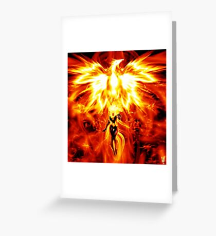 Jean the mighty Phoenix  Greeting Card