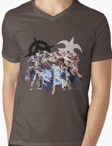Fire Emblem Fates - Hoshido & Nohr Royalty Mens V-Neck T-Shirt