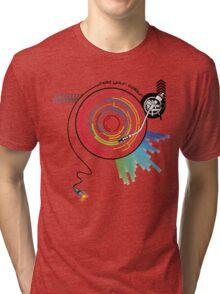 Pendulum Vinyl Music Mashup Tri-blend T-Shirt