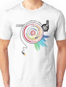 Pendulum Vinyl Music Mashup Unisex T-Shirt