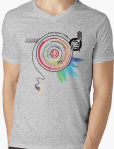 Pendulum Vinyl Music Mashup Mens V-Neck T-Shirt